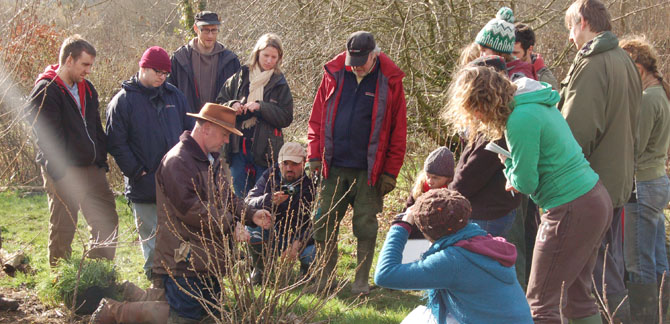 Demonstrating pruning techniques on the 5 day course